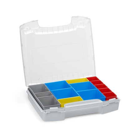BOSCH SORTIMO Systembox LS-BOXX 306 & i-BOXX 72 & LS-Schublade 72 alle grau & Insetboxen-Set C3