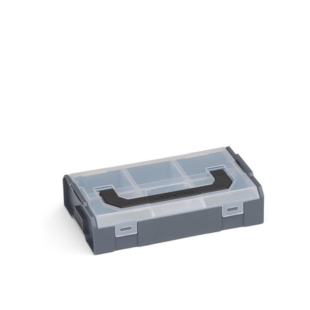 BOSCH SORTIMO Systembox L-BOXX Mini anthrazit Deckel transparent