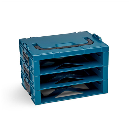 BOSCH SORTIMO Systembox i-RACK 3-fach Limited Edition makita Style für i-BOXX 72 & LS-Schublade 72