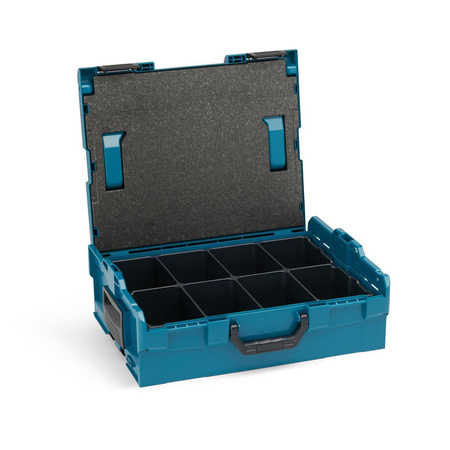 BOSCH SORTIMO Systembox L-BOXX 136 Limited Edition makita Style & Einlage 8-fach & Deckelpolster