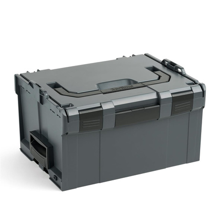 BOSCH SORTIMO Systembox L-BOXX anthrazit L-BOXX 136 & L-BOXX 374 & L-BOXX 238 & L-BOXX 102 & L-BOXX Rollbrett