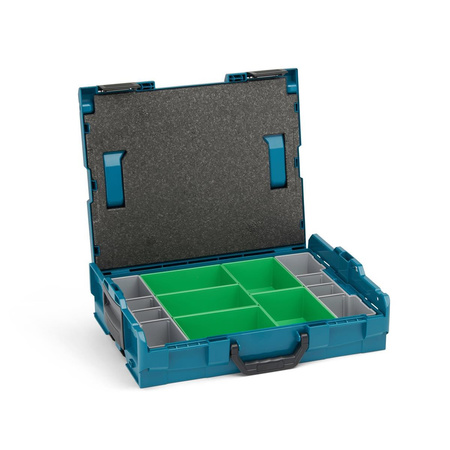 BOSCH SORTIMO L-Boxx 102 Größe 1 Limited Edition makita Style inklusive Insetboxenset D3